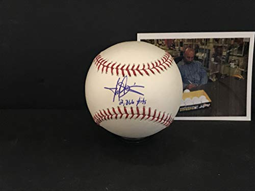 Harold Baines Chicago White Sox Autographed Signed Baseball 2866 Hits ()