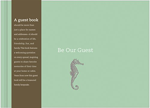 Be Our Guest: Coastal Guest - Home Book For Vacation Guest