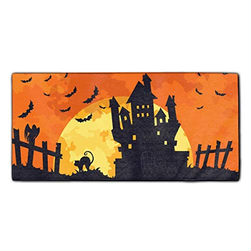 Highly Absorbent Hair towels Scary Halloween Soft Face Cloths Sport and Workout Towels ()