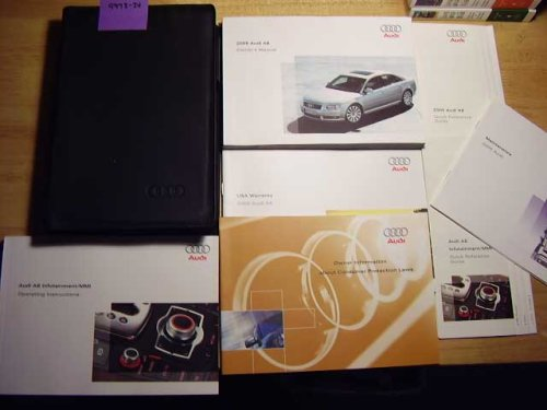2005 Audi A8 A 8 Owners Manual