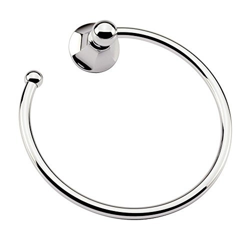 Ginger 621/PC Empire Open Towel Ring, Polished (Ginger Bath Fixtures)