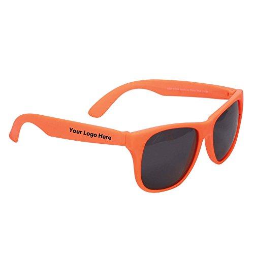 Single Tone Matte Sunglasses - 150 Quantity - $1.80 Each - Promotional Product/Bulk with Your ()