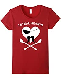 Funny I Steal Hearts Valentines Day TShirt