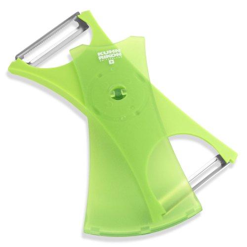Kuhn Rikon Dual Peeler Green