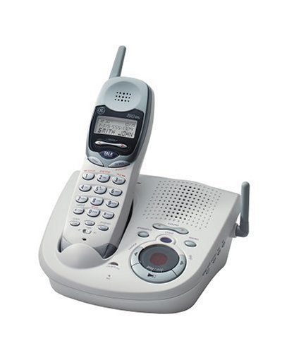 amazon com ge thomson 2 4 ghz cordless telephone w digital rh amazon com GE Cordless Phones with Alarm GE Cell Phone Headphone