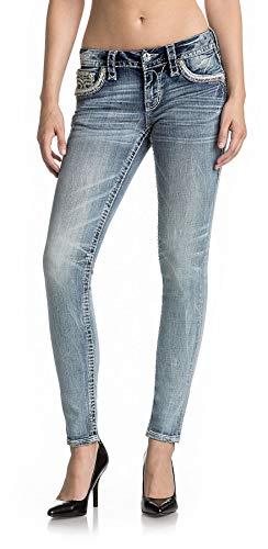 Rock Revival - Womens Oliana S204 Skinny Jeans, Size: 28, Color: ()