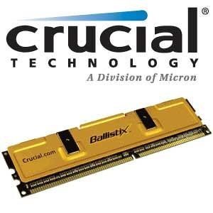(Crucial Technology 109841 512MB 400Mhz PC3200 DDR RAM)