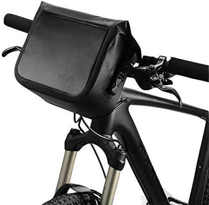 自転車バッグ自転車フロントバッグ4リットル防水ハンドルバッグ自転車フレームバッグフロントチューブポケットショルダーパックバイクアクセサリー