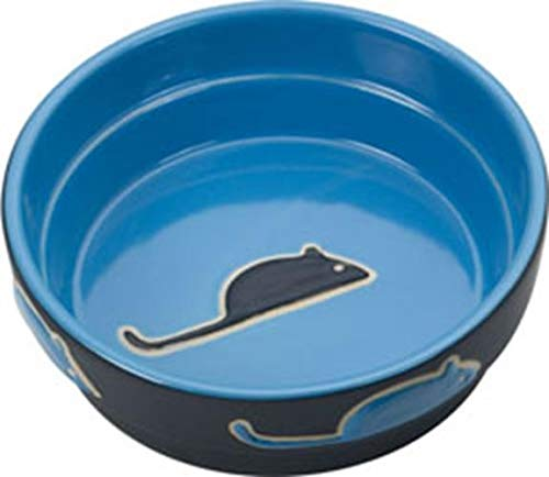 Ethical Pet Products (Spot) CSO6895 Fresco Cat Dish, 5-Inch, Blue