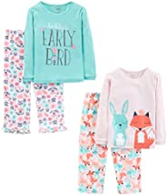 Simple Joys by Carter's Little Kid and Toddler Girls' 4-Piece Pa