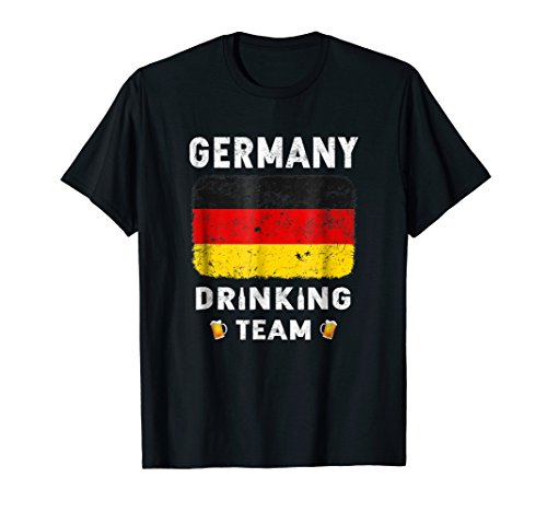 Germany Drinking Team Country Alcohol Beer T Shirt