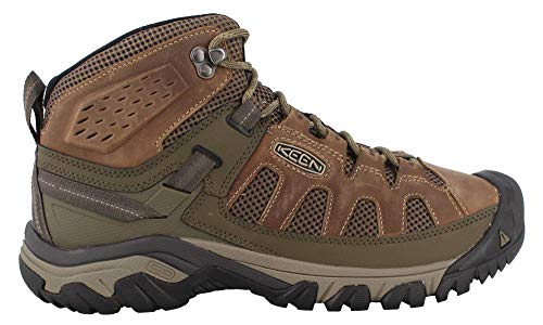 KEEN Targhee Vent Mid M Olivia/Bungee Cord Mens Hiking Boots Size ()