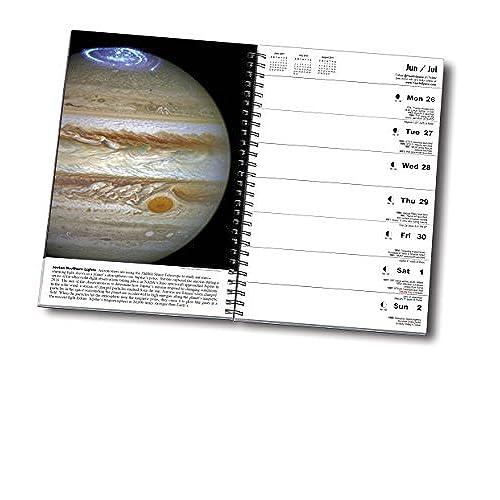 good the year in space 2017 desk calendar spiral bound 6 x 9