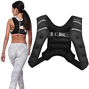 Adurance-Weighted-Vest-Workout-Equipment-6lbs10lbs-Body-Weight-Vest-for-Men-Women-Kids