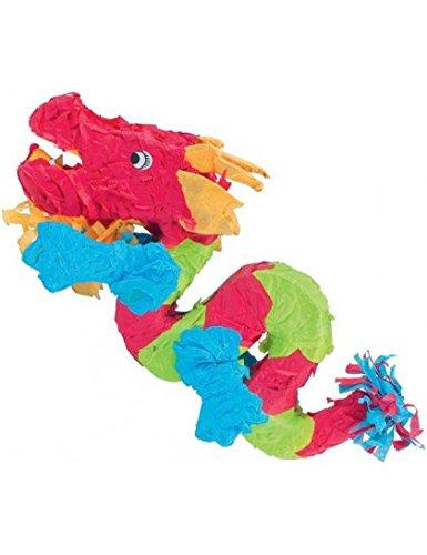 Amscan P19510 Pinatas Chinese Dragon, Assorted