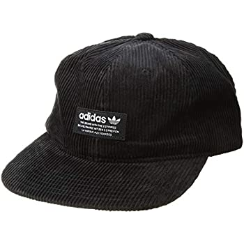 6356e21d29f adidas Men s Originals Wide Wale Corduroy Relaxed Adjustable Strapback Cap