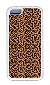 TYHH - Leopard Print Custom Rubber(TPU) white Case for Masterpiece Limited Design iphone 5/5s by Cases & Mousepads ending phone case