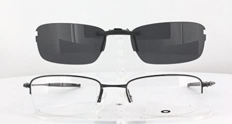 Eyekepper Flip-up Clip-on Sunglasses Polarized 60x43 MM 4-Pack Metal Glasses Clip