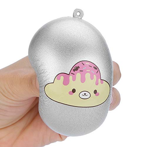 Squeeze Stress Reliever Toys, LtrottedJ Bread Pendant Scented Charm Slow Rising Collection Squeeze Stress Reliever Toys -