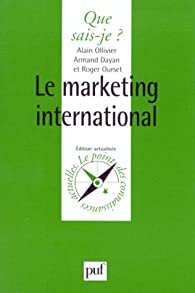 Le Marketing international par Ourset