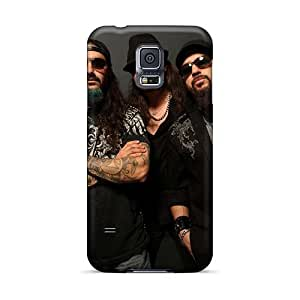 Samsung Galaxy S5 Dyj610XmXF Provide Private Custom HD Papa Roach Pattern Protective Cell-phone Hard Cover -MansourMurray