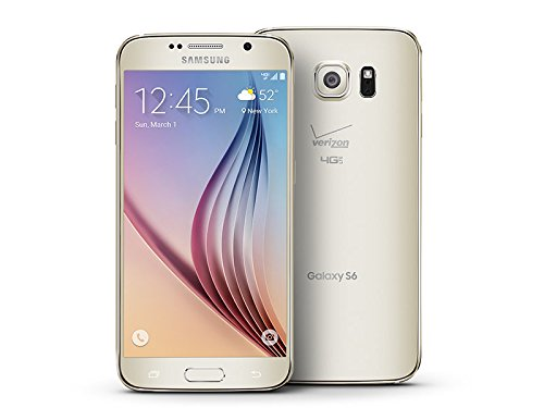 Samsung Galaxy S6 G920v 32GB Verizon (CDMA) No-Contract Smartphone - Gold Platinum