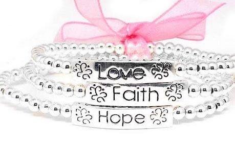 Faith, Hope, and Love Silver B