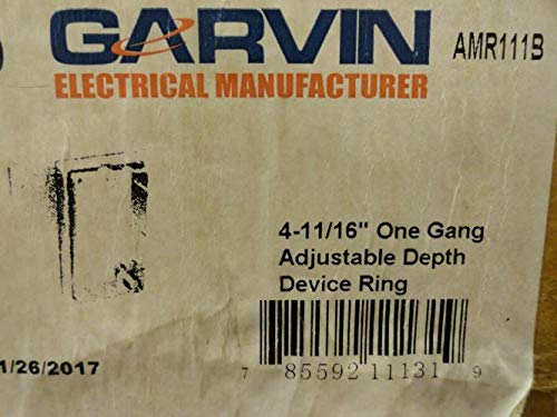 4-11/16 Inch One Gang Adjustable Depth Device Ring-2 per case