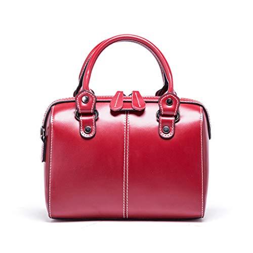 femminile taglia colore marrone versatile rosso per grande moda capacità Borsa la unica zIAR008