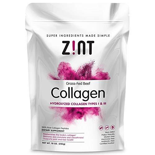 Collagen Powder Peptides: Hydrolyzed Collagen Protein Powder - Anti Aging Beauty Supplement - Skin, Hair, Nails (10 oz)