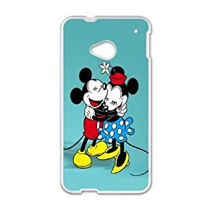 HTC One M7 Phone Case Lovely Minnie Mouse Cute Personalized Cover Cell Phone Cases GHX450296