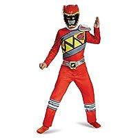 Disfraz Disfraz de Ranger rojo, Traje clásico, grande (10-12)