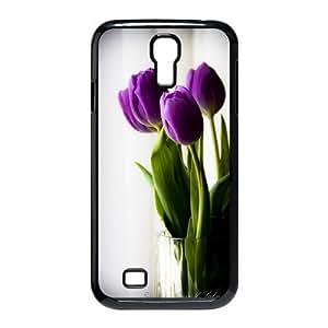 [QiongMai Phone Case] For SamSung Galaxy S4 Case -Beautiful Holland Tulip Flower-IKAI0446192