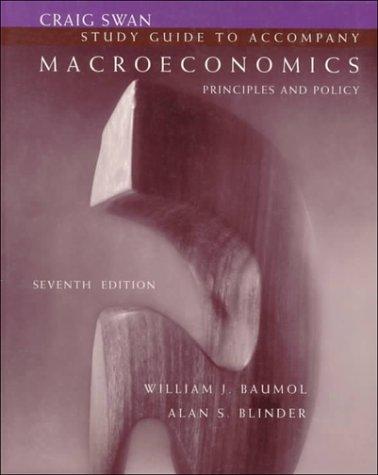 Download Study Guide to Accompany Macroeconomics: Principles