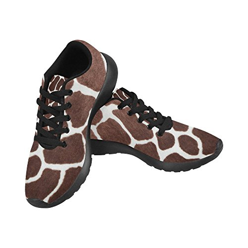 InterestPrint Women's Jogging Running Sneaker Lightweight Go Easy Walking Comfort Sports Athletic Shoes Giraffe Print 7 B(M) US = EUR37