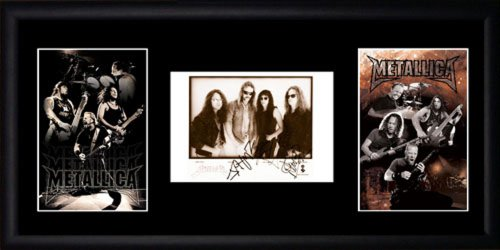Metallica Framed Photographs by Picture Favourites