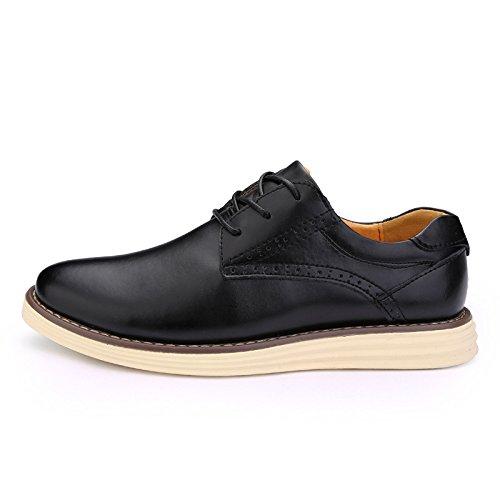 la Casual de L'Homme classique Chaussures black Casual voiture Chaussures haute Patins qualité conduisant 5zAzwHg