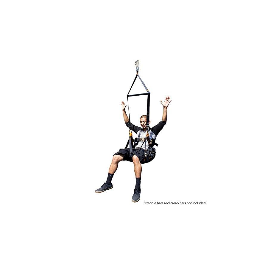 Fusion Climb Roar Full Body Zipline Hammock Harness