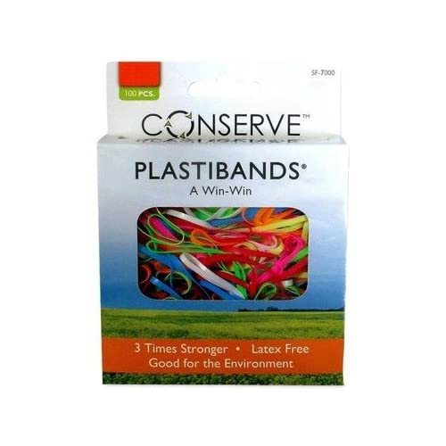 New Baumgartens Products PlastiBands, Assorted Sizes, Box of 200
