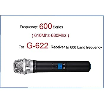 GTD Audio Hand held Microphone Transmitter Compatible With Receiver G-622 Series