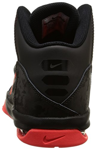 Nike Air Without a Doubt (Gs), Zapatillas de Baloncesto para Niños Negro / Naranja (Black / Bright Crimson-Hypr Orng)