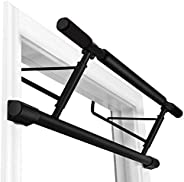 Stanz (TM) Chin Up Bar Multi-Grip Pull Up Bar Doorway Trainer for Home Gym, Holds Up to 280 lb