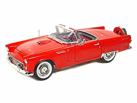 Amazon 1956 Ford Thunderbird Convertible 118 Red Toys Games