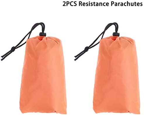 Holiberty Running Speed Training Parachutes 57 inch Speed Drills Resistance Umbrella Power Chute Parachutes for Weight Bearing Running Chute /& Fitness Explosive Power Training Black