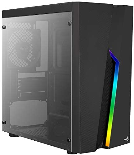 Aerocool BOLT MINI, caja PC MicroATX, ventana lateral, RGB 13 ...