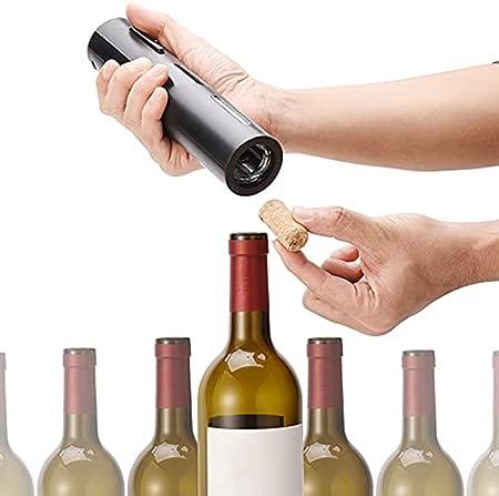 Migaven Sacacorchos Eléctrico, Abridor de Vino Electrico, Sacacorchos Automático de Moda, Funciona con Pilas para Banquete de Degustación de Vino