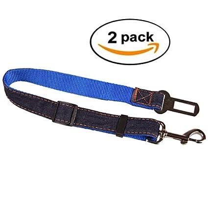 M-CH Coche Cinturones de seguridad Paquete de 2 Cinturones de ...