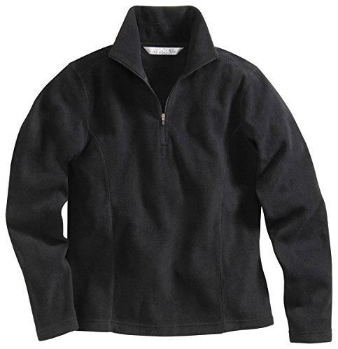 Womens 1/4 Zip Fleece Pullover - 4