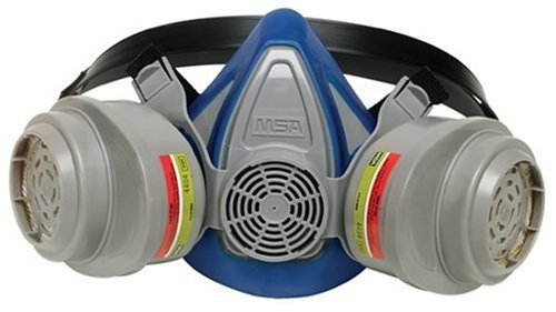 MSA Safety Works 817663 Multi-Purpose Respirator (Mask + 2 Refills)