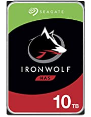 Seagate IronWolf 10TB NAS Internal Hard Drive HDD – 3.5 Inch SATA 6Gb/s 7200 RPM 256MB Cache for RAID Network Attached Storage (ST10000VN0008)